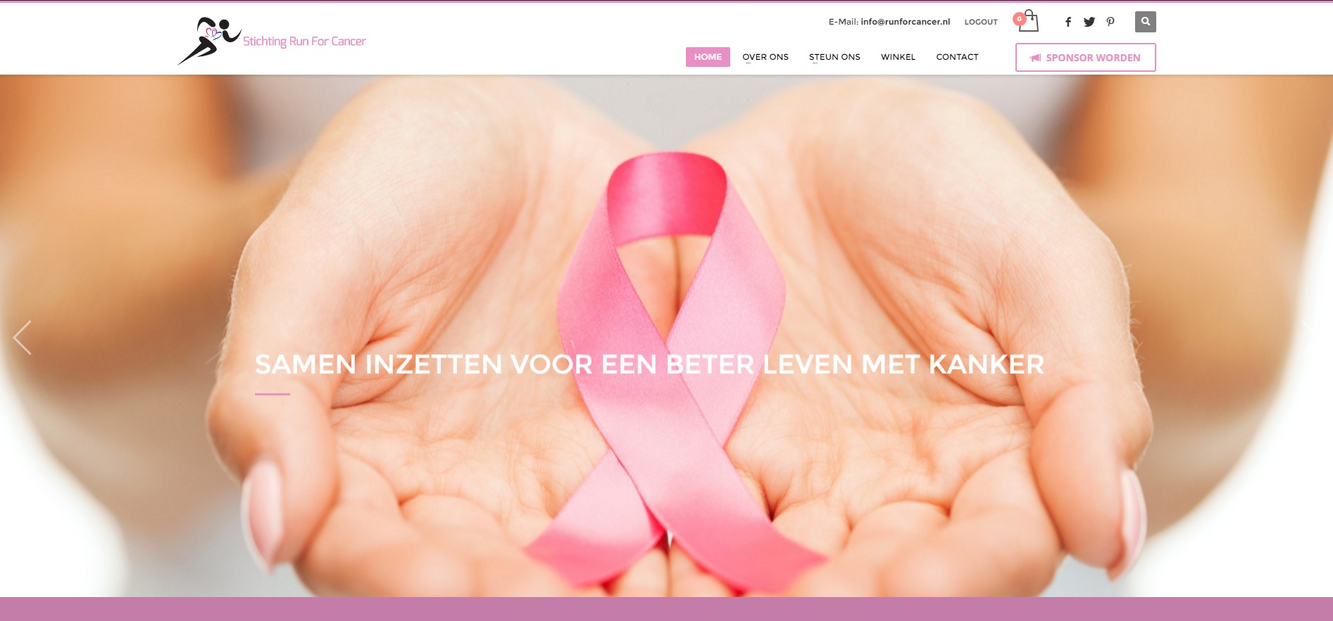 Stichting run for Caner Website